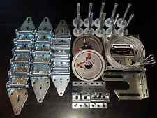 Garage Door Hardware Complete Kit - Heavy Duty 11 GA - 16x7 or 18x7