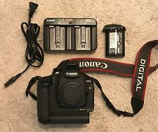 Canon EOS 1DS Mark III 21.1MP Digital SLR Camera Body + Battery