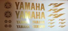 Yamaha R1 de oro Deporte motor Pegatina Carreras Set para Motocicleta De Coches