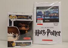 New Funko POP #26 Harry Potter Target Exclusive Golden Egg + Cursed Child Poster