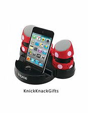 iHome Minnie Mouse Portable Rechargeable Speakers