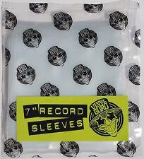 """Vinyl Guru Pack of 20 x 7"""" inch Record Single 450 Gauge Polythene Sleeves Covers"""