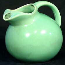 Ball Pitcher Vintage Lime Green USA ~ Water Jug w/ Ice Lip ~ 633 style Hall ?