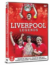 LIVERPOOL FC LEGENDS 4 DVD TEAM OF 70s 80'S EUROPEAN CHAMPIONS FEATURING 5 GAMES