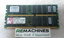 Kingston 2GB Kit 2x1GB DIMM 266 MHz DDR SDRAM RAM Memory (KTC-ML370G3/2G) TESTED