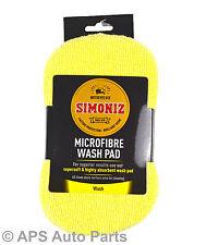 Simoniz Microfibre Wash Washing Pad Cleaning Buffing Polishing Valeting Care New