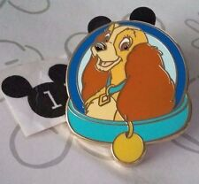 Lady and the Tramp Magical Mystery Series Blue Collar Disney Pin Buy 2 Save $