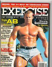 Exercise For Men Only Bodybuilding Muscle Magazine/Sexy Swimwear 6-01