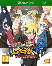 Naruto Shippuden Ultimate Ninja Storm 4 Road To Boruto Xbox One *NEW SEALED PAL*