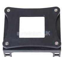 Black Plastic Retail CPU Fan Mounting Bracket Base for Socket Intel P4 478 CPU