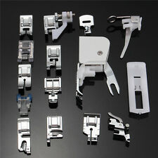 Set of 15pcs Costura Máquina Coser Prensatelas Sewing Machine Presser Foot Feet
