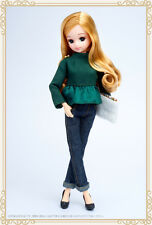 Takara Licca Olive peplum style Stylish Doll Collections FREE SHIPPING