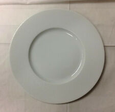 "PHILIPPE DESHOULIERS ""SEYCHELLES WHITE"" DINNER PLATE 11"" LIMOGES FRANCE NEW"