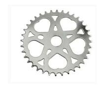 CHROME SWEET HEART SPROCKET 36t FLAT WITH LOGO LOW RIDER BICYCLE BIKE