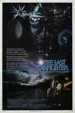 Last Starfighter Poster 01 A2 Box Canvas Print