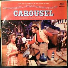RODGERS & HAMMERSTEIN SOUNDTRACK carousel LP VG+ LCT 6105 Mono UK 1956 Capitol