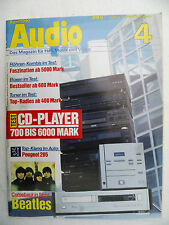 AUDIO 4/90 AIR TIGHT ATD 1,ATM 2,AUDIO RESEARCH LS 1,CLASSIC 60.MADRIGAL PROCEED