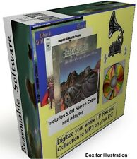 CONVERT COPY TRANSFER PUT LP VINYL RECORDS & TAPES TO YOUR PC OR MP3 PLAYER 5M