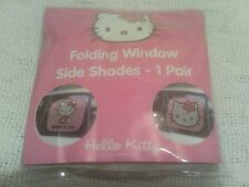Hello Kitty Folding window side shades - 1 Pair