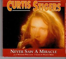 (DX597) Curtis Stigers, Never Saw A Miracle - 1992 CD 1 & 2