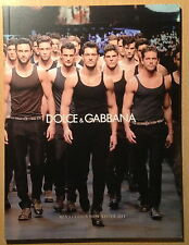 Dolce & Gabbana Catalogue Men's Fashion Show Winter 2011,David Gandy NEW