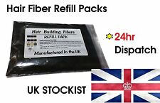 50g Dark Brown  - 100% Natural Keratin Hair Fiber - Fibres Refill For Hair Loss