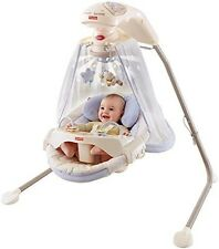Starlight Cradle Swing Baby Nite Infant Nursery Rocker Newborn Nap Fisher Price