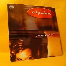 Cardsleeve Single CD Elysian True Signs 1TR Belgian Pop Rock MEGA RARE !