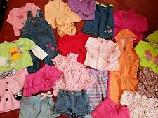 Lot of 22 ~ 18 mos Baby Girl Clothes ~ Oshkosh/ Carter's/ Disney/ Little Lamb