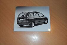 PHOTO DE PRESSE ( PRESS PHOTO ) Volkswagen Sharan 1.8 T Trendline de 1998 VW051