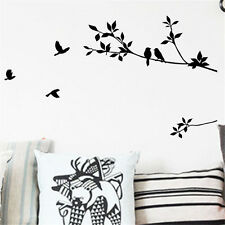 New Removable Wall Stickers Decals Bird Tree Branch Vinyl Quote Mural Home Decor