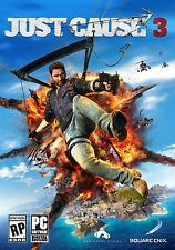 Just Cause 3 Digital (PC, 2015) Steam Digital Download Key No Desc Region Free