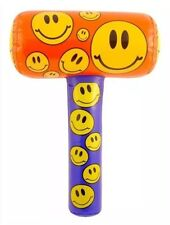 Inflatable Smiley Mallet 48cm Pinata Toy Loot Party Bag Hammer Wedding Kidz Pool