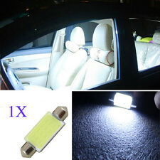 1PC 41mm 12V White LED COB Festoon Dome Interior Bulbs Car Reading Light Lamp A