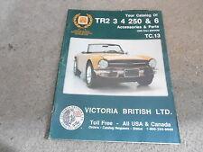 #MISC-2273 - VINTAGE CATALOG  - 1990 TR2 3 4 250 BRITISH car parts