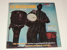 ADE BASHORUN AND THE LAGOS HIGHLIFE EXPLOSIVES W/ TALKING DRUMS OF nigeria sings