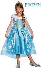 Elsa Costume 3T/4T XS Girls Frozen Costume Elsa Costume DELUXE Disney Frozen NEW