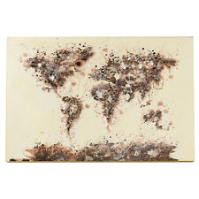 Wandbild World-Map Weltkarte 120cm