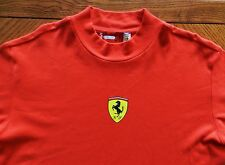 vtg Ferrari Scuderia T Shirt 80s 90s Fila rare Mens XL Italian car collector red