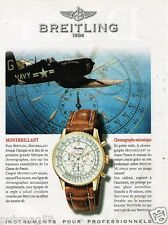 Publicité advertising 1997 La Montre Breitling Montbrillant