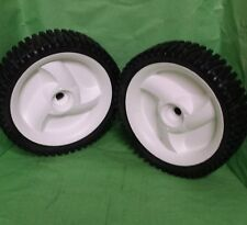 "CRAFTSMAN HEAVY DUTY SET OF 8"" FRONT DRIVE WHEELS 194231X427 532403111 NOT CHEAP"