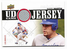Russell Martin Baseball Card UD Game Jersey Upper Deck 2010 #UDGJ-RM NM