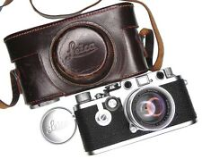 Leica IIIF Self-Timer with 5cm f2 Coll. Summicron  #688990 ......... Minty