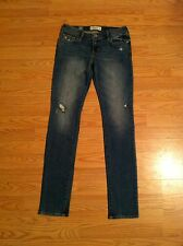 NWT Abercrombie Kids Girl's Jeans Size 16 Super Skinny Light-Medium Wash $60
