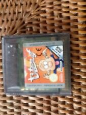 rare jeu nintendo gameboy color TITEUF vintage PORT GRATUIT