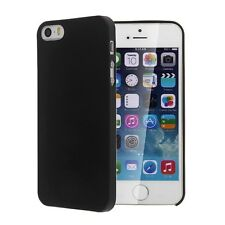0.3mm Ultra Thin Clear Matte Frost Case Cover For Apple iphone 5s 5 5G Black