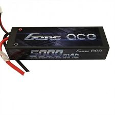 Gens ace 2S 5000mAh 7.4V 50C/100C Lipo HardCase RC Stampede Traxxas Deans