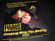 PARIS 1992 Scarface Records PROMO POSTER AD Sleeping With The Enemy MINT COND.