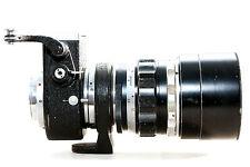Leitz Leica Objektiv Telyt 1:4.0 / 200mm mit Visoflex II für Leica M