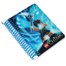 LEGO CHIMA BLUE MINI POCKET JOURNAL NOTEBOOK A6 - GREAT FOR SCHOOL - AGES 6+